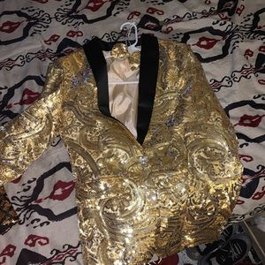 Other - Gold Blazers Brand new